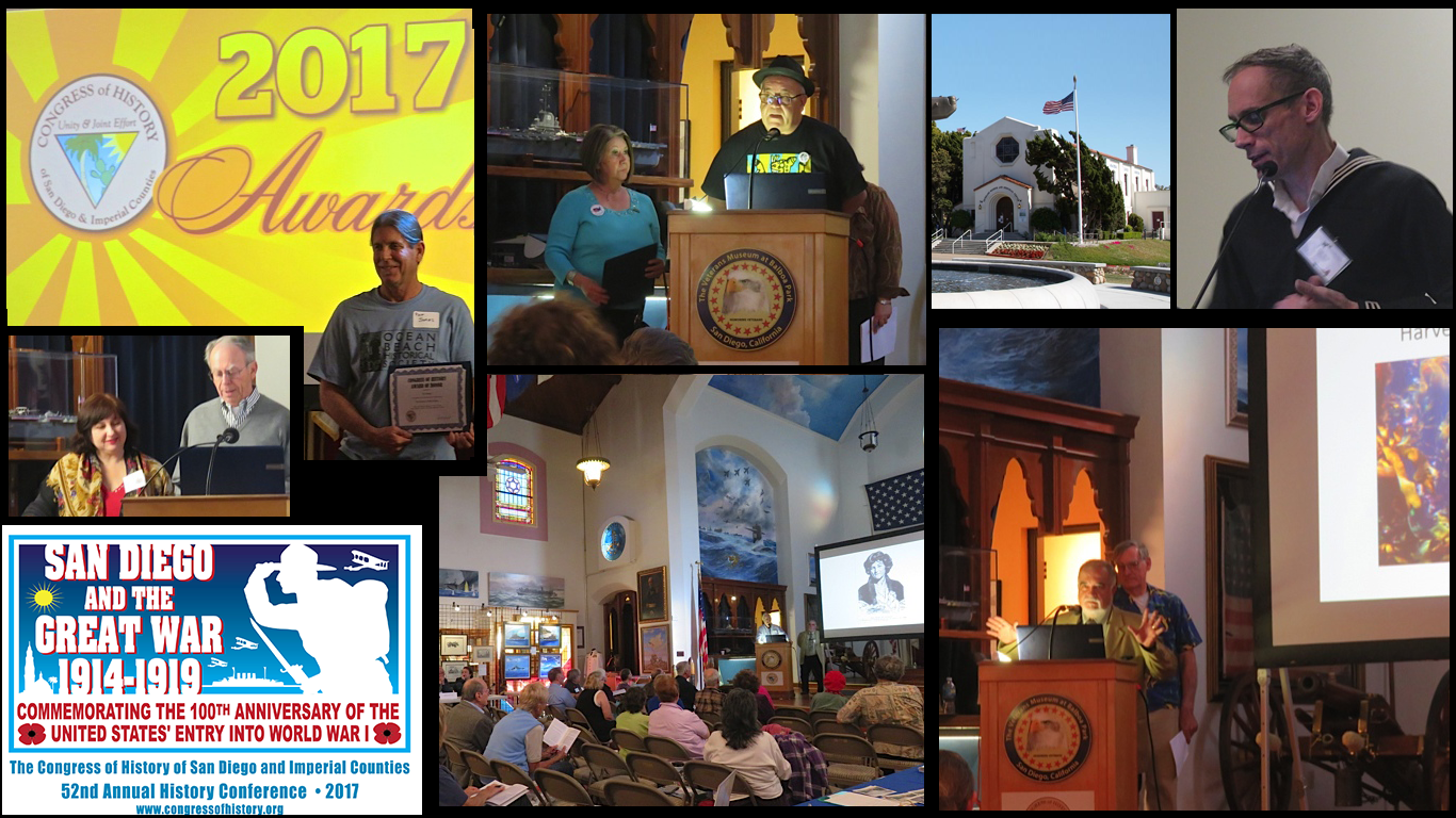 Photo montage of awards and talks during our conference.