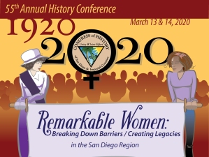 Logo for upcoming Remarkable Women Conference - March 13 & 14 2020