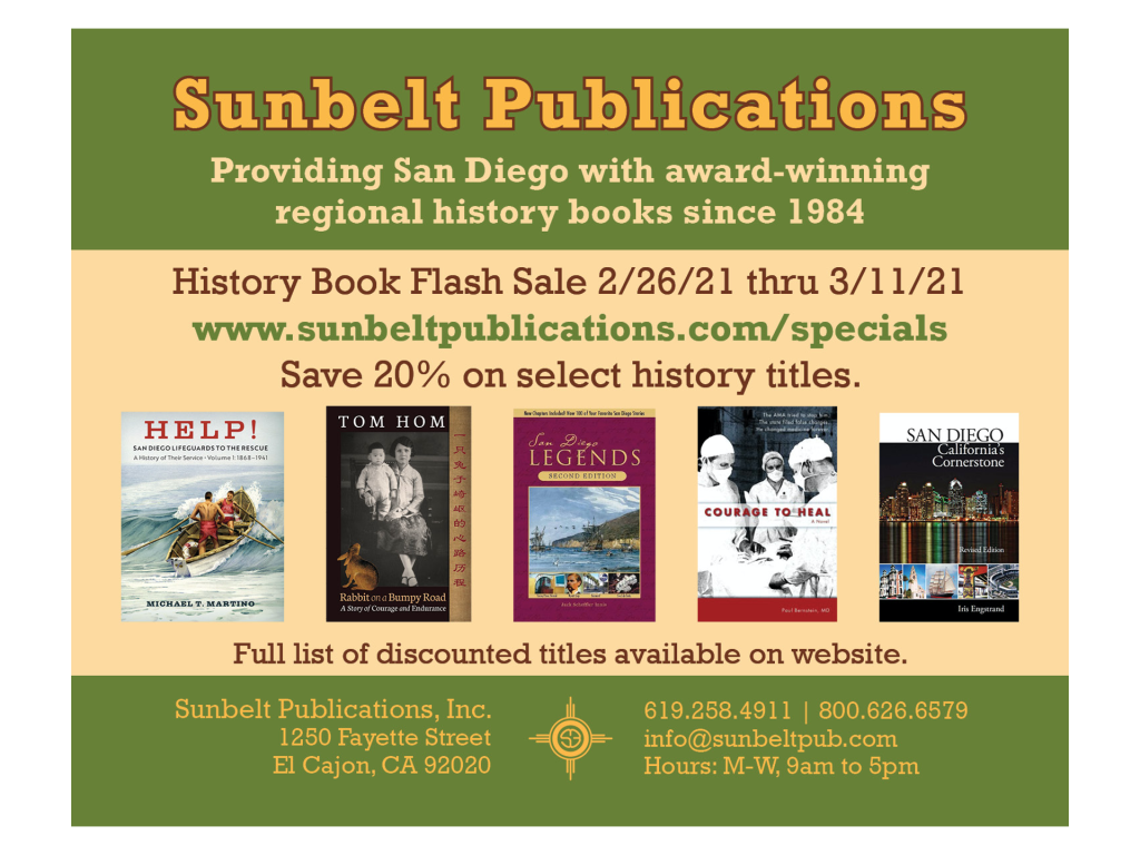 Graphic of Sunbelt publications.